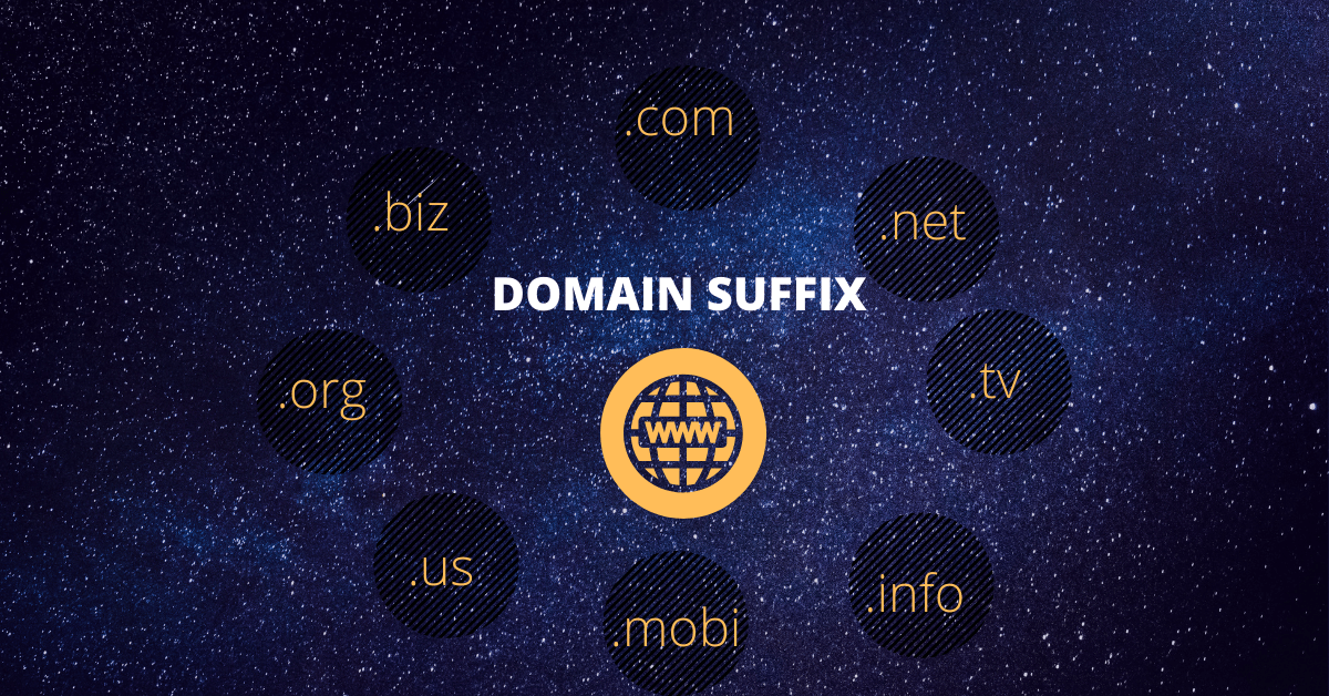 Which Domain Suffix Is Most Frequently Used By Businesses